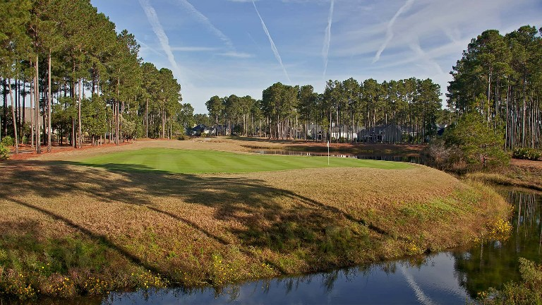 Image: Pinecrest Golf Club hole 17