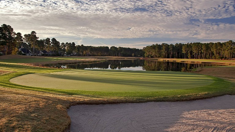 Image: Pincecrest Golf Club hole 18